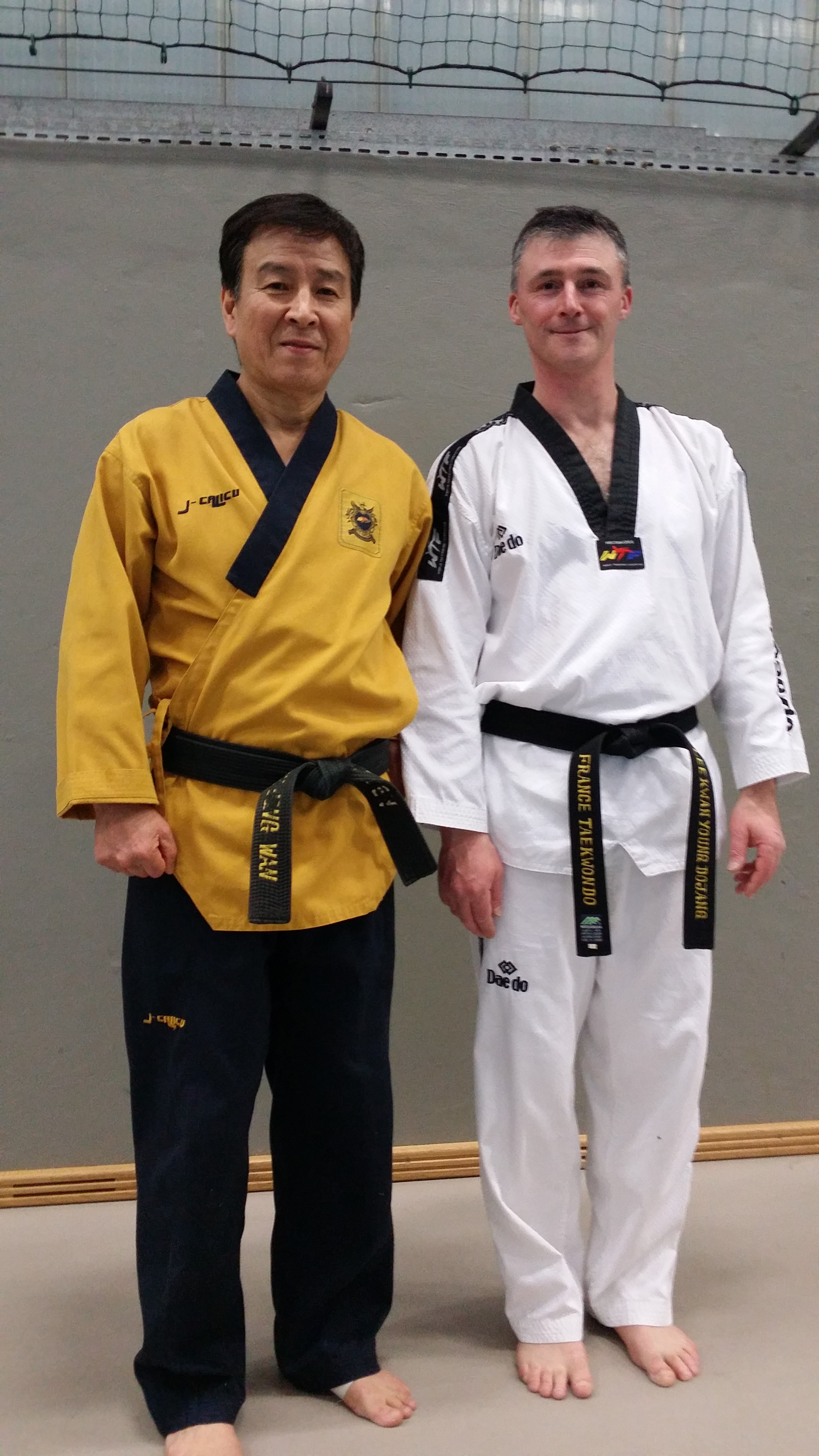 Me Kim Jong Wan et Stéphane
